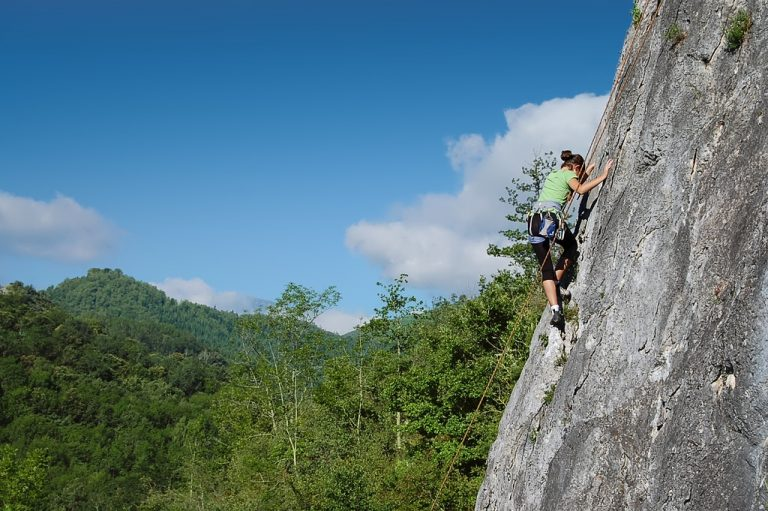 Rock Climbing in the Ariege