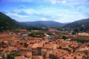 Overlooking Foix