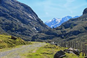 Mountain Pass leading to Andorra