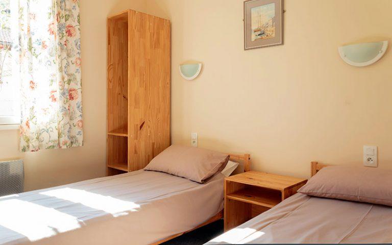 Chambre à deux lits, RDC
