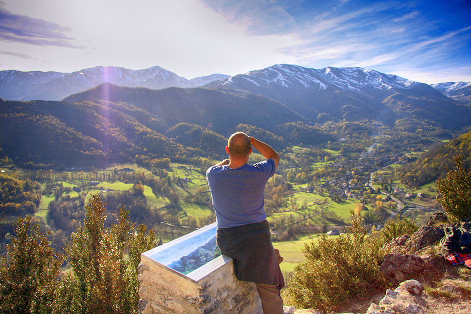 Walking in the Ariege Pyrenees