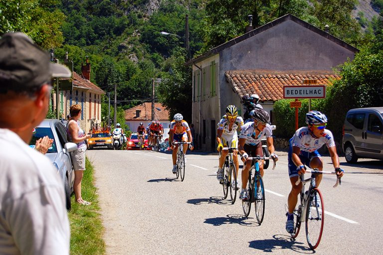 Road Cycling in Bedeilhac