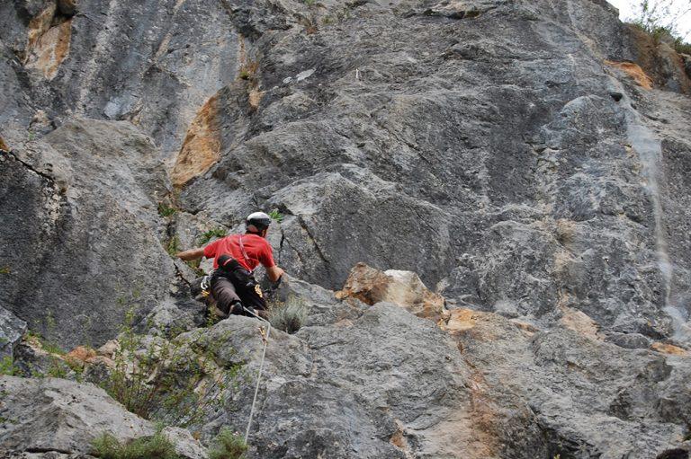 Roc a Steph crag