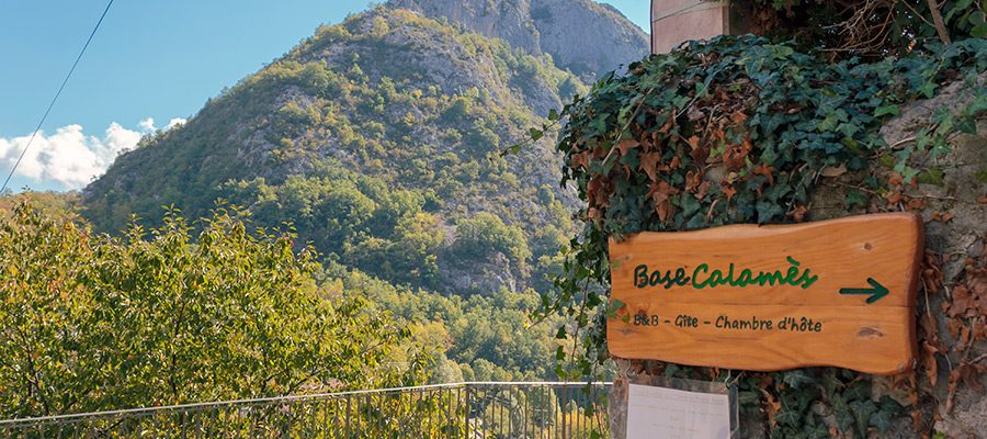 Base Calames in the Ariege Pyrenees
